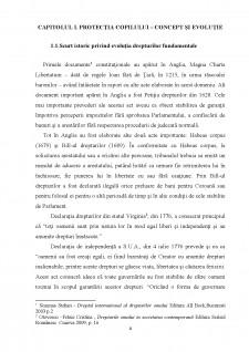 Protectia copilului in legislatia romana si internationala - Pagina 4