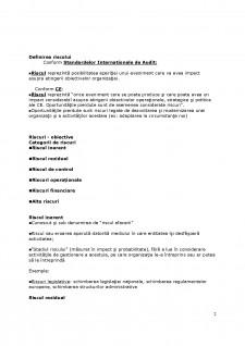 Managementul riscurilor - Pagina 2