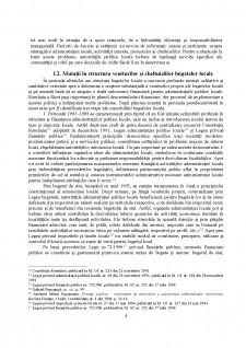 Bugetul local și procesul bugetar local - Pagina 4