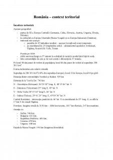 Geografia umana a Romaniei - Pagina 1