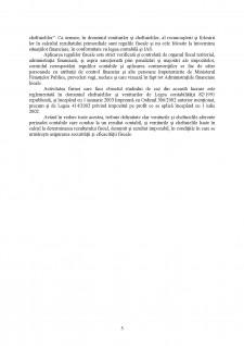 Organizarea și conducerea contabilității cheltuielilor și veniturilor la SC Simultan SRL - Pagina 5