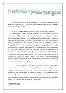 Monuments remis en question en ensuite applaudis - Pagina 1