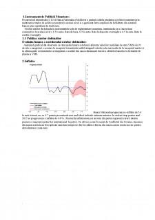 Analiza politicii monetare - Pagina 1