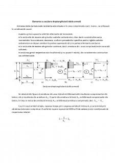 Elemente cu secțiune dreptunghiulară dublu armată - Pagina 1