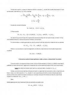 Elemente cu secțiune dreptunghiulară dublu armată - Pagina 3