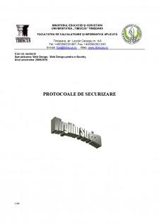 Protocoale de securizare - Pagina 1