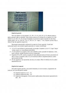 Arhitectura sistemelor de calcul - Arhitectura de baza, Setul de registre - Pagina 2