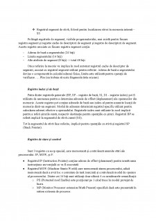 Arhitectura sistemelor de calcul - Arhitectura de baza, Setul de registre - Pagina 3