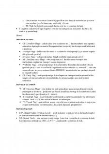 Arhitectura sistemelor de calcul - Arhitectura de baza, Setul de registre - Pagina 4