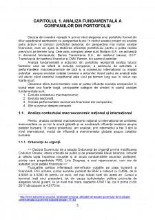 Analiza portofoliului - studiu de caz TLV, BIO, SNP și SIF3 - Pagina 3