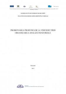 Promovarea produselor la Vinexert prin organizarea analizei senzoriale - Pagina 1