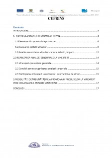 Promovarea produselor la Vinexert prin organizarea analizei senzoriale - Pagina 2