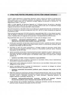 Structura pentru sprijinirea dezvoltării urbane durabile - Pagina 1