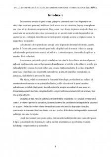 Analiza comparativă a calculatoarelor personale comercializate în România - Pagina 3
