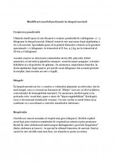 Modificari morfofunctionale in timpul sarcinii - Pagina 1