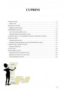 Imaginea de sine - Încrederea de sine - Stima de sine - Pagina 2