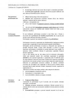 Măsurarea și controlul performanței - Pagina 2