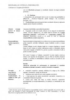 Măsurarea și controlul performanței - Pagina 3