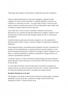 Tehnologia Data-Mining - Pagina 1