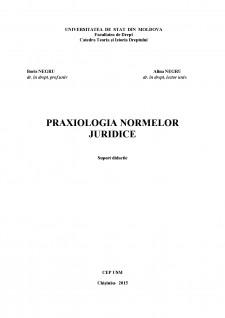 Praxiologia normelor juridice - Pagina 1