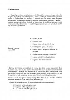 Analiza Bugetului General Consolidat al Poloniei în perioada 2005-2010 - Pagina 4