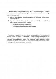 Analiza Bugetului General Consolidat al Poloniei în perioada 2005-2010 - Pagina 5