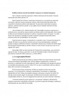 Politica externă și de securitate comună - Pagina 2