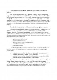Politica externă și de securitate comună - Pagina 4