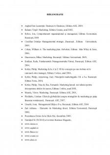 Organizarea mixului de marketing în cadrul DOMO SA - Pagina 1