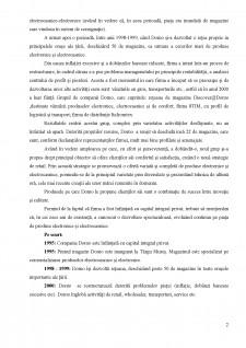 Organizarea mixului de marketing în cadrul DOMO SA - Pagina 3