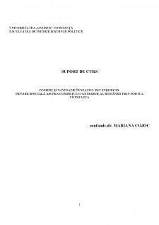 Comerț și navigație în spațiul Est European - Pagina 1