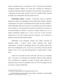 Strategii de marketing in institutii culturale - centrul cultural Pitesti - Pagina 5
