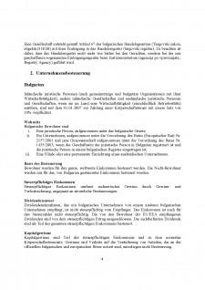 Rumanien vs Bulgarien - Vergleich zwischen Steuersystemen - Pagina 5