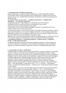 Contabilitatea impozitelor - Pagina 1