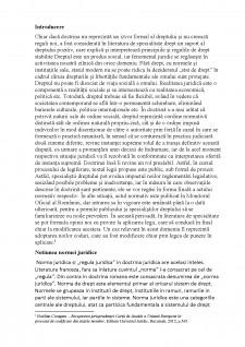 Rolul doctrinei în aplicarea normelor juridice în sistemul de drept românesc - Pagina 2