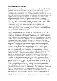 Rolul doctrinei în aplicarea normelor juridice în sistemul de drept românesc - Pagina 4