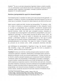 Rolul doctrinei în aplicarea normelor juridice în sistemul de drept românesc - Pagina 5