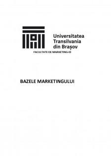Analiza activității de marketing în cadrul firmei Sushi Master Brașov - Pagina 1
