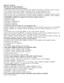 Grile Dreptul Muncii - Pagina 1