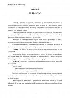 Materiale de constructii - Pagina 1