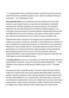 Sinteza legilor privind protejarea patrimoniului cultural national si a monumentelor istorice - Pagina 2