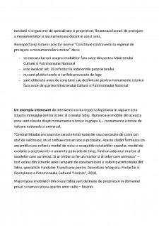 Sinteza legilor privind protejarea patrimoniului cultural national si a monumentelor istorice - Pagina 4