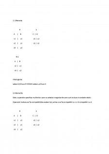 Algebra relationala - Pagina 2