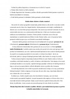 Politica lingvistica a Germaniei - Pagina 1