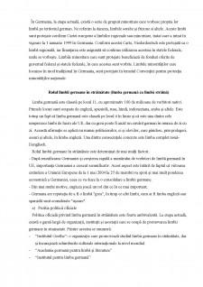 Politica lingvistica a Germaniei - Pagina 2