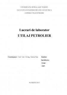 Utilaje petroliere - Pagina 1