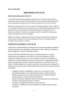 Ameliorarea plantelor semestrul II - Pagina 1