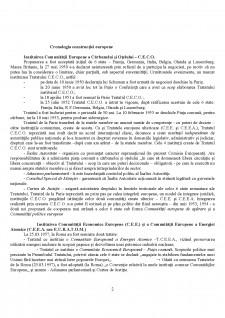 Dreptul UE - Înființarea cronologică - Pagina 2