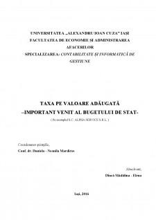 Taxa pe valoare adăugată - important venit al bugetului de stat - Pagina 2