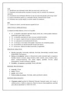 Proiect didactic AVAP clasa pregatitoare - 1 Decembrie - Ziua Nationala a Romaniei - Pagina 2
